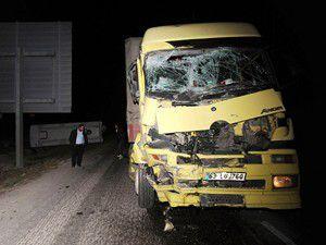 Gaziantepte zincirleme trafik kazası