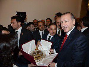 Konyalı minibüscüler Başbakanı ziyaret etti