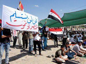 Irakta Cuma gösterileri