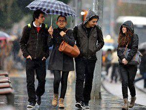 Türkiye yağışlı havanın etkisinde kalacak