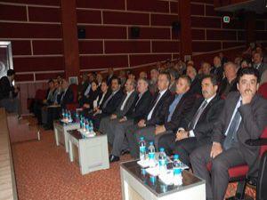 Akşehirde Büyükşehir Çalıştayı