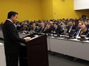 Babacan BM Genel Kurulunda konuştu