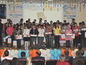 Merve Eğitim Altın Çocuklar Yarışmasına yoğun ilgi