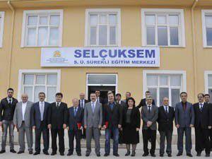 SELÇUKSEMin Yeni Binası Hizmete Açıldı