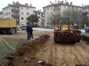 Cami ve Kuran Kursu inşaatı çalışmaları başladı