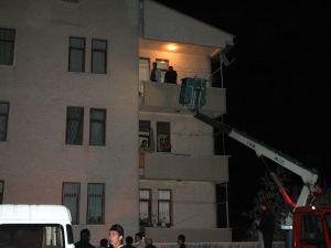 Polis gece hırsız bekledi