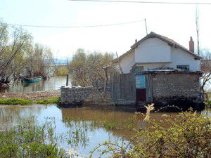 Beyşehir Gölü suları yükseldi
