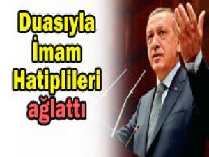 Erdoğandan imam hatiplilere özel dua