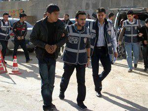Kuryelik yapan 6 kişi tutuklandı