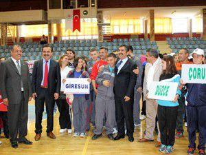 Özel sporcular Konyada buluştu