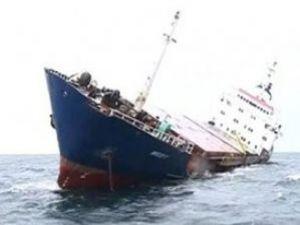 Egede Türk gemisi battı
