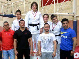 Judocular Her Turnuvada Kürsüde