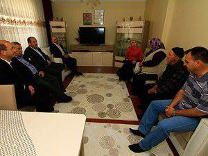 """""""Şehit yakınlarının desteğini önemsiyoruz"""""""