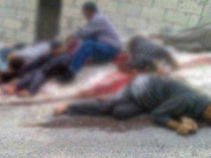 Suriyede bir köyde 40 kişi infaz edildi iddiası