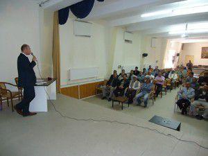 Sarayönünde muhtar ve imamlara kene eğitimi