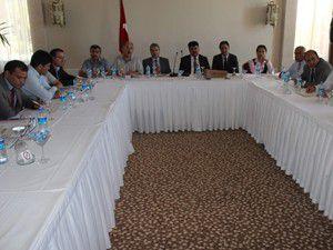 Beyşehirde Kamu hastaneleri toplantısı