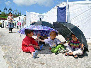63 çocuk çadır kentte dünyaya geldi