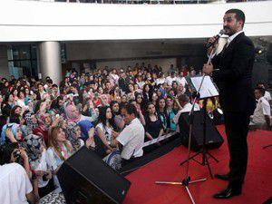 KTO Karatay Üniversitesinde Erkam Aydar konseri