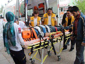 Beyşehirde trafik kazası: 5 yaralı