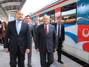 """""""Türkçe Treni"""" Konyada"""