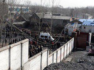 Çinde kömür madeninde patlama