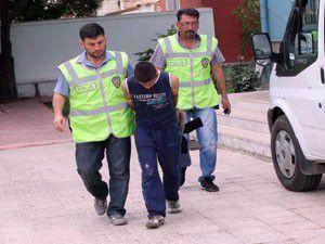 Doğum gününde tutuklandı