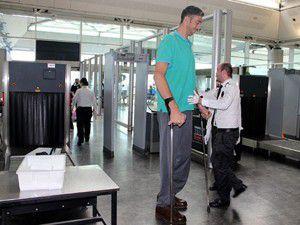 Dünyanın en uzunu Türk, ABDye uğurlandı