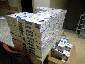 Konyada 2 bin paket kaçak sigara ele geçirildi.