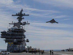 ABD savaş gemisinden insansız uçak kaldırdı