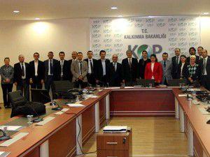 Bölge Kalkınma Ajansları Toplantısı yapıldı