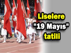 20 Mayısta tatil