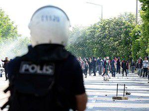 Başkentte gösteriye polis müdahalesi