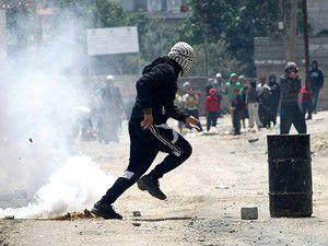 Filistinliler, Gazzede gösteriler düzenledi