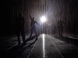 New Yorkta farklı bir deneyim: Islatmayan yağmur