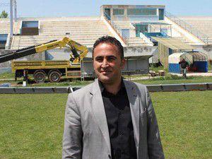 Beyşehirde stadyumun çehresi değişiyor