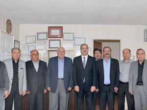 KSOdan Başkan Duvarcıya teşekkür ziyareti