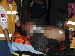 Polisten kaçan şüpheli kazada yaralandı