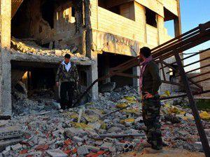 Suriye ordusu Kusayrın merkezine girdi
