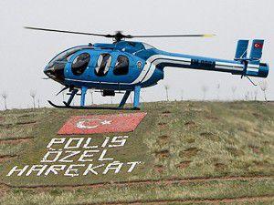 Polis havada da güçleniyor