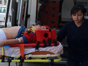 Beyşehirde ağaçtan düşen çocuk yaralandı