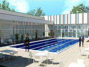 Selçukluya iki yarı olimpik havuz