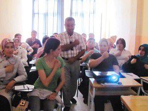 Ereğlide personele işaret dili eğitimi