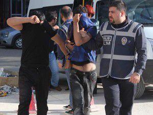 Operasyonlarda toplam 20 kişi tutuklandı