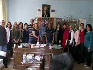 İsveç Türk Kadınlarından Kuluya ziyaret