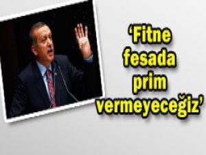 Erdoğan; biz sizi yalnız bırakmıyoruz