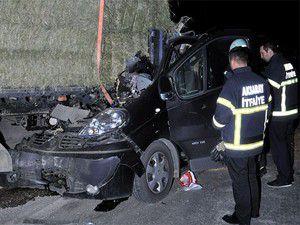 Aksaray-Konya yolunda kaza: 1 yaralı