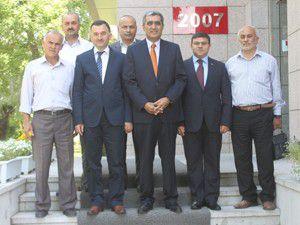 Beyşehir Heyetinden Konuka hayırlı olsun ziyareti