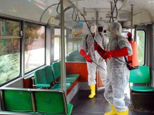 Konyada toplu ulaşıma H1N1 ayarı