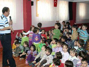 Çocuklara Gripten korunma yolları anlatıldı