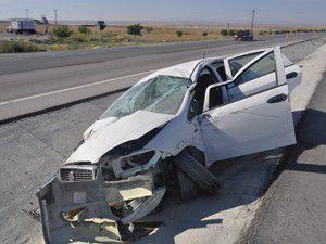 Cihanbeylide trafik kazası: 2 yaralı